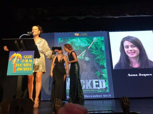 Anna Jaques, 'Wicked' – Ballina Players - Gold Palm Theatre Awards