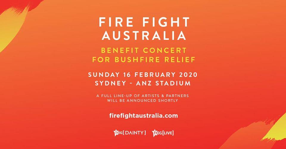 Fire Fight Australia - Benefit Concert