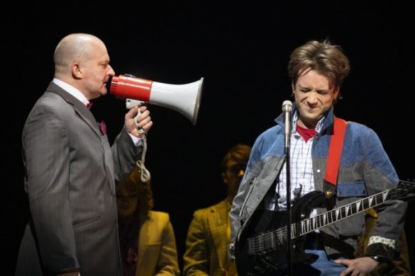 First Look at new musical 'Back to the Future'