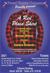 A Red Plaid Shirt (Tweed Theatre Company) @ Piggabeen Hall