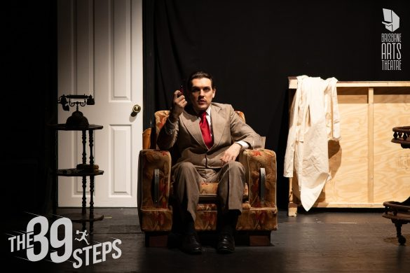 'The 39 Steps' // Brisbane Arts Theatre
