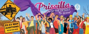 Priscilla Queen of the Desert (Toowoomba Choral Society) @ Toowoomba Choral Society