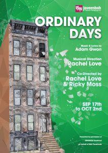 Ordinary Days (Javeenbah Theatre) @ Javeenbah Theatre